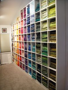 This takes 'Fabric Stash' to another level..WOW!