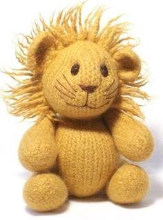 Felt Lion Knitting Pattern!