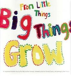 Booktopia has From Little Things Big Things Grow, Iconic Indigenous Song Titles Ser. by Paul Kelly. Buy a discounted Paperback of From Little Things Big Things Grow online from Australia's leading online bookstore. Aboriginal Children, Aboriginal Dreamtime, Aboriginal Education, Aboriginal Culture, Naidoc Week Activities, Art Activities, Abc Education, Paul Kelly, Protest Songs