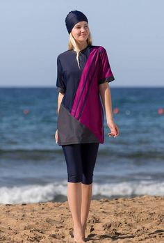 2017 Adabkini ELVAN Pool Swimwear Sunsuit Wet Suit Covered