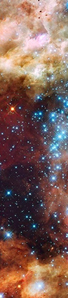 Mind-Blowing Orange Nebula Series