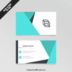 Visita Cartão abstrato Teacher Business Cards, Cool Business Cards, Business Card Design, Letterhead Template, Flyer Template, Brochure Template, Free Printable Business Cards, Designers Gráficos, Facebook Cover Design
