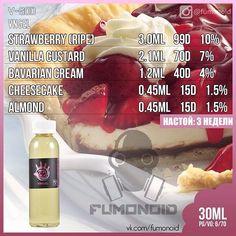 The Vape Generation - Vaporizers , ejuices and accessories Diy Vape Juice, Vape Diy, Vape Facts, E Juice Recipe, Clone Recipe, Bavarian Cream, Vape Smoke, Cheesecake, Vanilla Custard