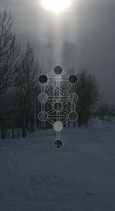 My latest project took me to the snowy forests of the Colorado Rocky Mountains.  The creation of this series served as somewhat of a digital meditation for me.  Through experimentation with surrealistic lighting and esoteric forms I attemped to recreate the stillness I felt being in that moment.  #JulianLuskin #Sefirah #Sephirot #Kabbala