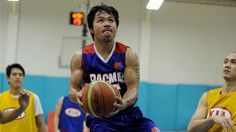 A Philippine basketball team took Manny Pacquiao with their first round draft pick