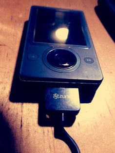My first mp3 player was the original zune player. It doesn't work anymore but I still keep it for sentimental value :)