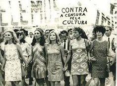 Movimento Feminista 1960 nas ruas do RJ 2