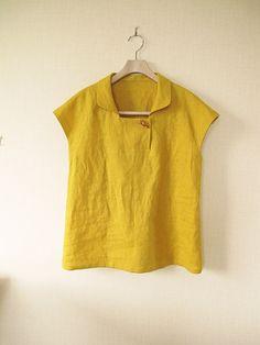 想いをかたちに・・・の画像|エキサイトブログ (blog) Sewing Clothes, Diy Clothes, Clothes For Women, Kurta Designs, Blouse Designs, Top Pattern, Pattern Sewing, Pants Pattern, Short Tops