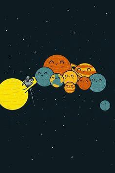 tumblr solar system - Buscar con Google
