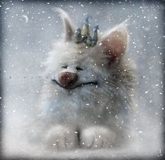 Snow by *enigma-astralis  Digital Art / Mixed Media / Fantasy