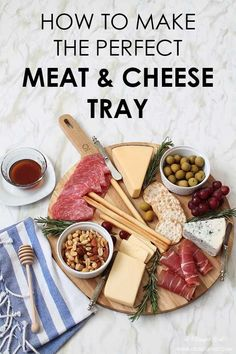 How To Make The Perfect Meat & Cheese TrayYou can find Cheese trays and more on our website.How To Make The Perfect Meat & Cheese Tray Meat Cheese Platters, Meat Trays, Charcuterie And Cheese Board, Meat Platter, Antipasto Platter, Cheese Appetizers, Food Platters, Appetizer Recipes, Cheese Recipes