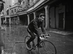 CAMPUS Lookbook Autumn/Winter 2014 #winter #fashion #inspiration #cycle #men #rain