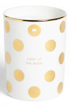 kate spade new york 'light up the room' scented candle | Nordstrom