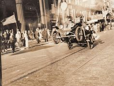 The earliest known documented wheelie from 1936