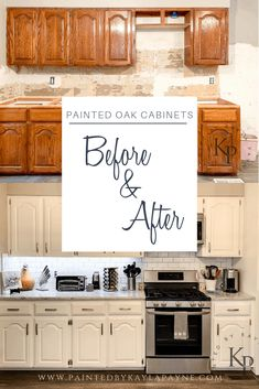 Kitchen Cabinets In Alabaster – Painted by Kayla Payne Painting Oak Kitchen cabinets. Kitchen Cabinets In Alabaster – Painted by Kayla Payne Diy Kitchen Remodel, Diy Kitchen Cabinets, Kitchen Redo, Home Decor Kitchen, New Kitchen, Home Kitchens, Kitchen Makeovers, Restaining Kitchen Cabinets, Kitchen Flooring