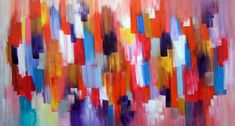 Abstract Canvas Acrylic Painting Seb Farrington Artistthe Drip - DMA Homes   #87085 Osnat TZADOK