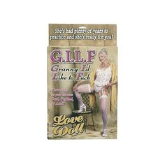 GILF Love Doll - £29.99 www.playtimeonline.co.uk