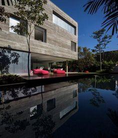 São Paulo, Brazil  Cube house  studio mk27 - marcio kogan© Fernando Guerra, FG+SG Architectural Photography