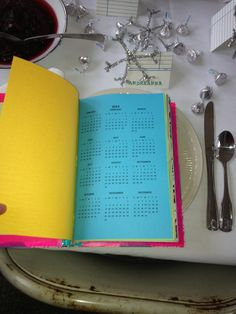 Calendars inside journal
