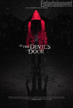 4813fe4ab03 Official Poster for Nicholas McCarthy s  At the Devil s Door  starring Naya  Rivera Movies To
