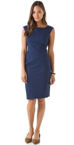 Sleeveless, Gabi dress from Diane von Furstenberg