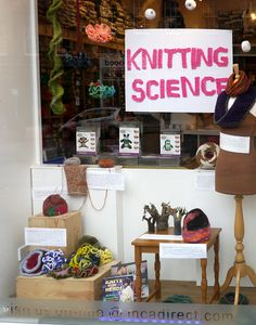 Knitting Science Window