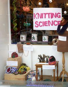 Knitting Science Window