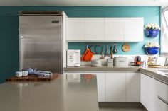 Cozinha decorada por Julyana Bortolotto