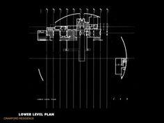 Crawford Residence - Floor Plans   Morphopedia   Morphosis Architects