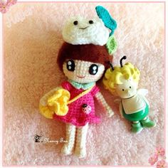 Xiao Q with her good friend Xiao Ji ~ 小Q 和 小吉