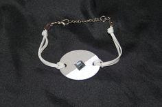 Bracelet en béton,  bracelet original, bracelet moderne, bijoux béton, cadeau d'anniversaire, bracelet unique, bracelet en velours de la boutique LRTendance sur Etsy