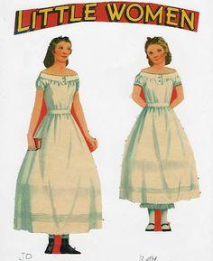 Little Women | Gabi's Paper Dolls