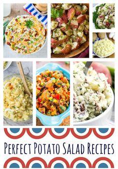 Perfect Potato Salad Recipes. Perfect Potato Salad, potato salad recipes, easy…