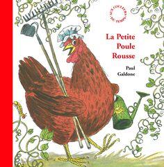 La petite poule rousse de Paul Galdone
