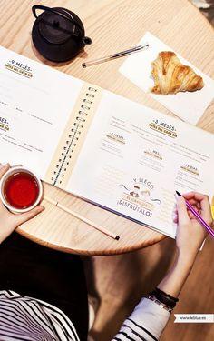 Agenda de boda LeBlue para guiar el paso a paso de los futuros noviosmerakimint! - A la venta en www.leblue.es