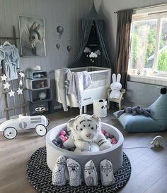 Likes, 40 Comments - Madelen ( on In. Baby Bedroom, Baby Boy Rooms, Baby Room Decor, Baby Boy Nurseries, Nursery Room, Toddler Rooms, Kids Rooms, Kids Bedroom Furniture, Kids Room Design