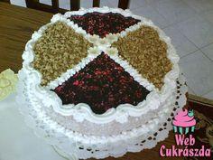 Angol citromkrém torta