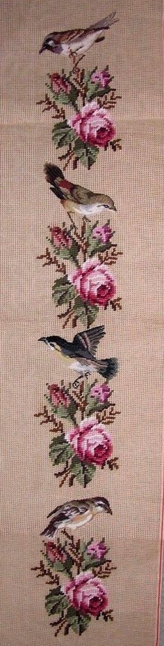 This Pin was discovered by Yas Cross Stitch Heart, Cross Stitch Borders, Cross Stitch Flowers, Counted Cross Stitch Patterns, Cross Stitch Designs, Cross Stitching, Cross Stitch Embroidery, Hand Embroidery Designs, Embroidery Patterns
