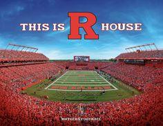 This is R House #RFootball #RUAthletics #Heldrich