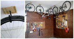 Accrocher les vélos pour gagner de l'espace