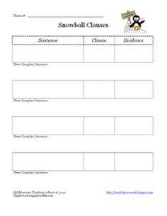 Dependent clauses worksheet pdf