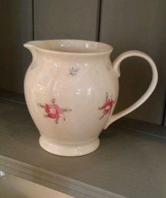 Rose Tattoo small cream bone china jug