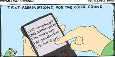 Old folks dealing with technology