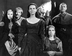 The Seventh Seal by Ingmar Bergman Movie Theater, Movie Tv, Theatre, Movie Captions, The Seventh Seal, Ingmar Bergman, Movies Worth Watching, Red Nose, Great Films