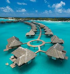 Bora bora! My dream honeymoon.