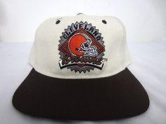 Vintage Starter Chicago Bears Snapback Hat Cap 100% Wool Cream White   Starter  BaseballCap 384854879413