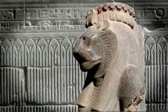 Mut mother goddess temple Karnack Luxor ancient Thebes Egypt