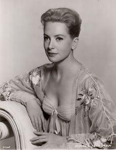Deborah Kerr in beautiful negligee ~ 1940s