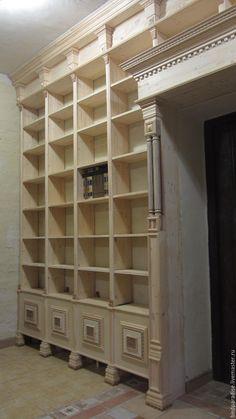 Купить Открытый шкаф стеллаж для книг. Мебель из дерева ручной работы. - Мебель, мебель на заказ