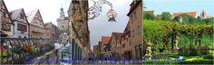 La ciudad medieval de Rothenburg ob der Tauber